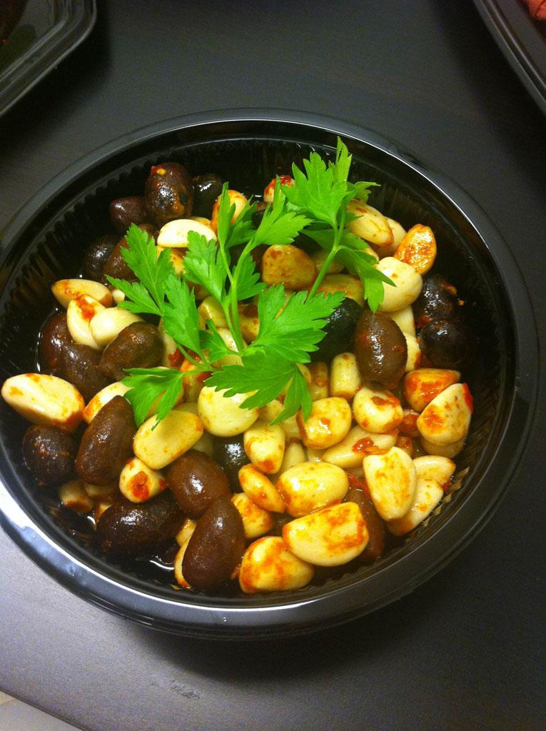 Vitlök och oliver catering buffé i gävle